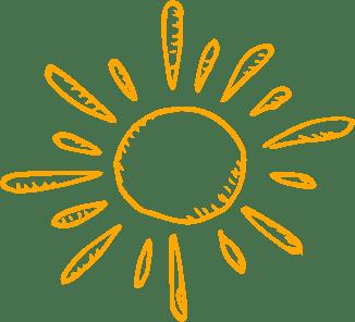 icone représentant un soleil