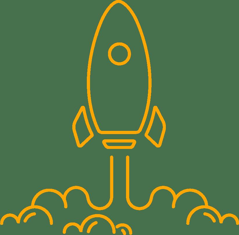 icône représentant une fusée